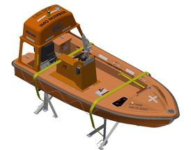 VIKING Norsafe Midget-500 MKII with 40HP Norsafe Marine and fixed K4-D hook