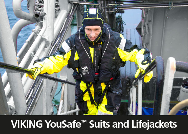 VIKING YouSafe Suits and Lifejackets