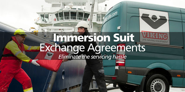 VIKING immersion suit exchange agreements
