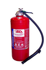 Fire Extinguisher, 9 kg, ABC Powder, Cartridge Operated, ABS