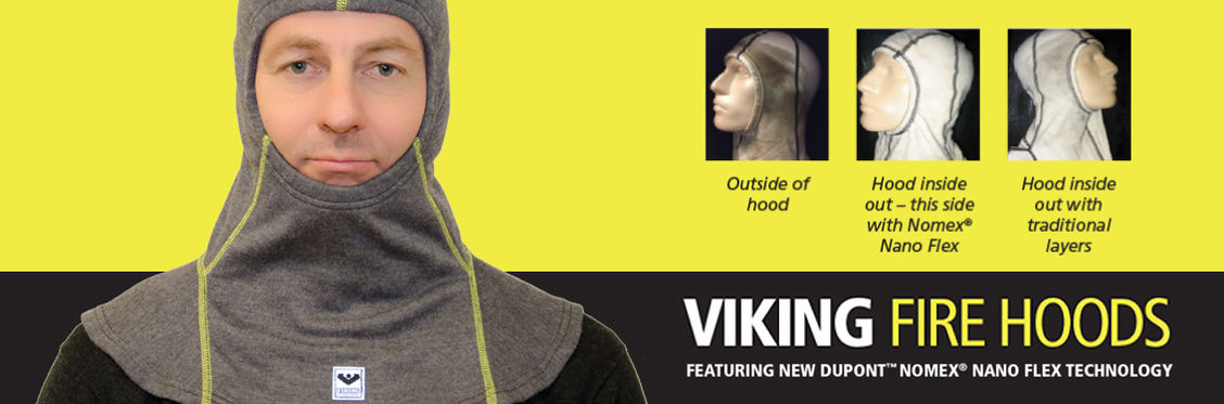 VIKING Fire Hood Dupont Nano Flex Particle Protection technology