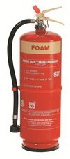 VIKING Fire Extinguisher, 9 Liter, AFFF Foam, Stored Pressure