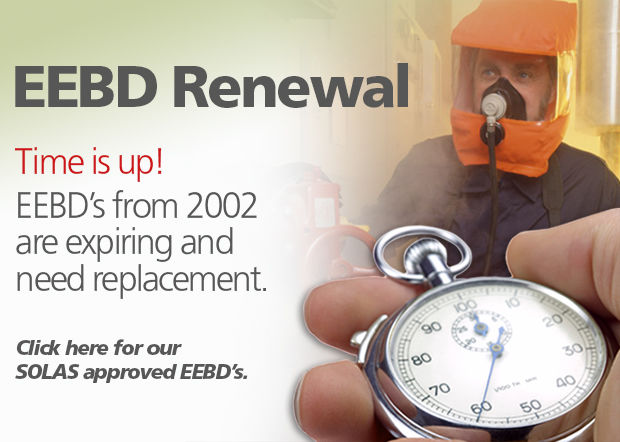 Your EEBD expires. Buy your SOLAS approved EEBD in VIKING SafetyShop