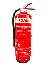 VIKING Fire Extinguisher, 9 Liter, AFFF Foam, Cartridge Operated