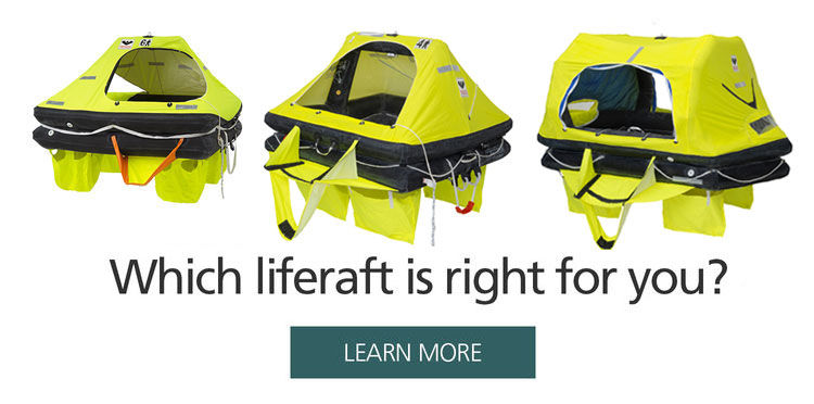 VIKING yachting liferaft
