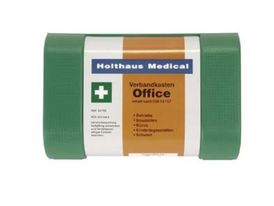 First Aid Kit DIN13157-C incl. wall bracket