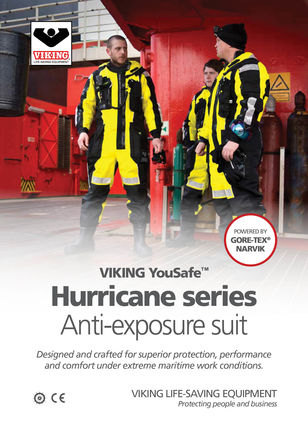 Hurricane Anti-exposure suit
