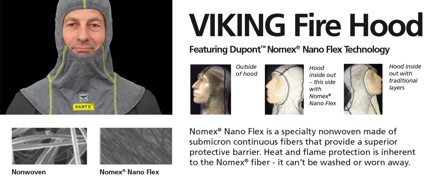 VIKING Fire Hood Nanoflex