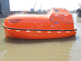 VIKING Norsafe JYN-65 totally enclosed lifeboat - maximum 36 persons