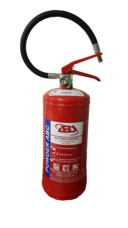 Fire Extinguisher, 6 kg, ABC Powder, Stored Pressure, ABS