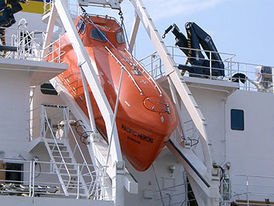 VIKING Norsafe GES-25 MKII free-fall lifeboat - maximum 32 persons