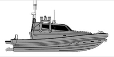 Munin 1000 daughter craft for defence and military professionals VIKING Norsafe