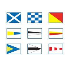 International Signal Flag Set, 100 x 120cm