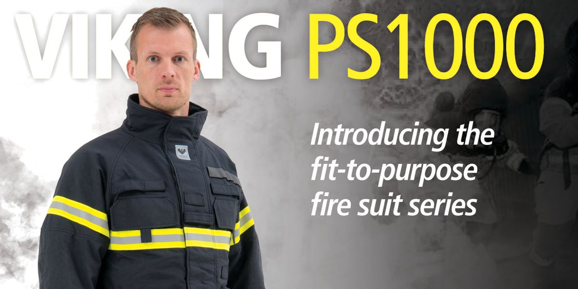 VIKING PS1000 Rugged Fit-to-Purpose Fire suit Ergonomic design