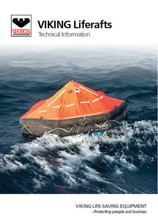 Technical info about liferafts from VIKING