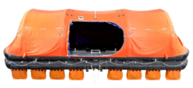 VIKING Throw overboard liferaft, self-righting type DKS, 101 persons