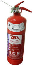 Fire Extinguisher, 2 kg, ABC Powder, Stored Pressure, ABS