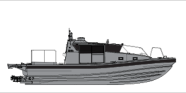 Munin S1200 Patrol daughter craft for defence and military professionals VIKING Norsafe