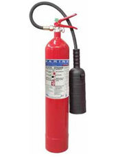 Fire Extinguisher, 5 kg, CO2, Stored Pressure, ABS
