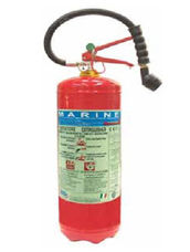 Fire Extinguisher, 6 Liter, AFFF Foam, Stored Pressure, ABS