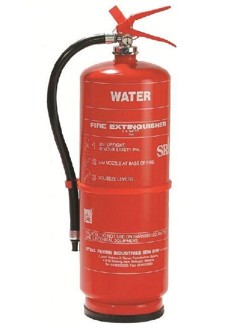 Fire Extinguisher 9 Liter Water Stored Pressure SRI