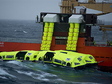 VIKING LifeCraft passes Heavy Weather Sea Trial (HSWT)