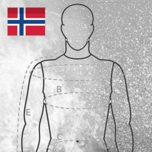 Measurement form banner Swedish VIKING firesuits